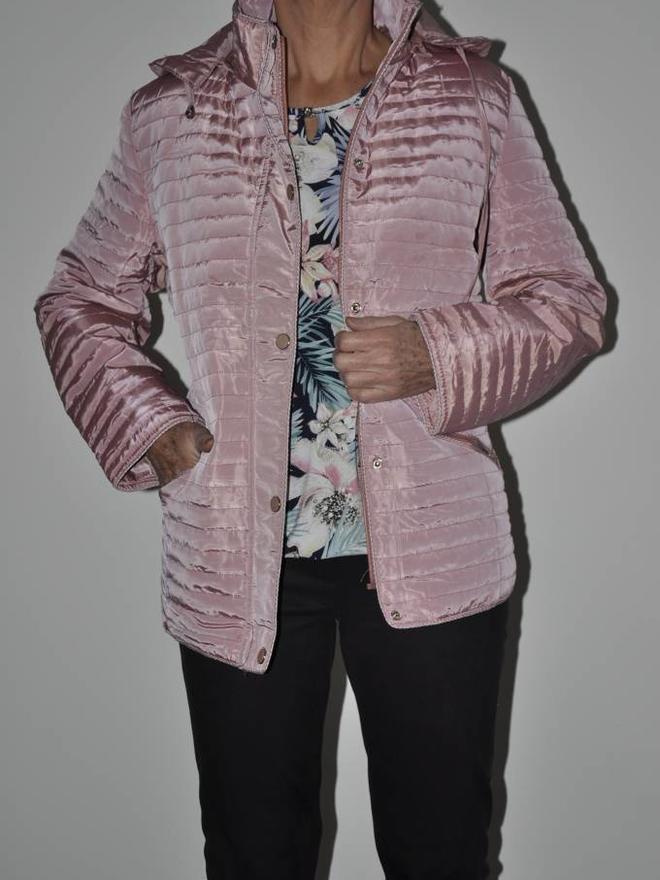 Winterjas Voor Oudere Dames.Oudere Dames Jas Blauw Mode