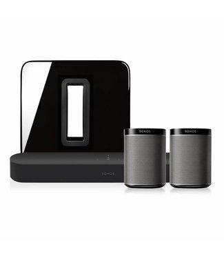 Sonos Beam + Sub + 2x Play:1 bundle