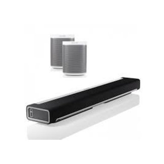 Sonos Playbar Soundbar + 2x Sonos Play:1 Speaker Bundle