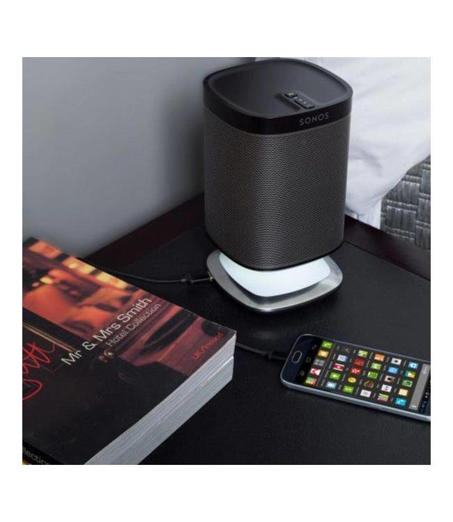 Sonos Play:1 + Flexson desk stand light bundle