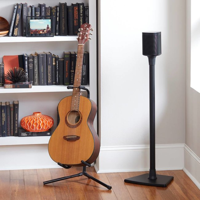 Sanus WSS21 Fixed Height Speaker Stand for Sonos One, One SL, Play:1 & Play:3