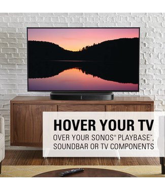 Sanus WSTV1 Swivel TV base for Sonos Playbase