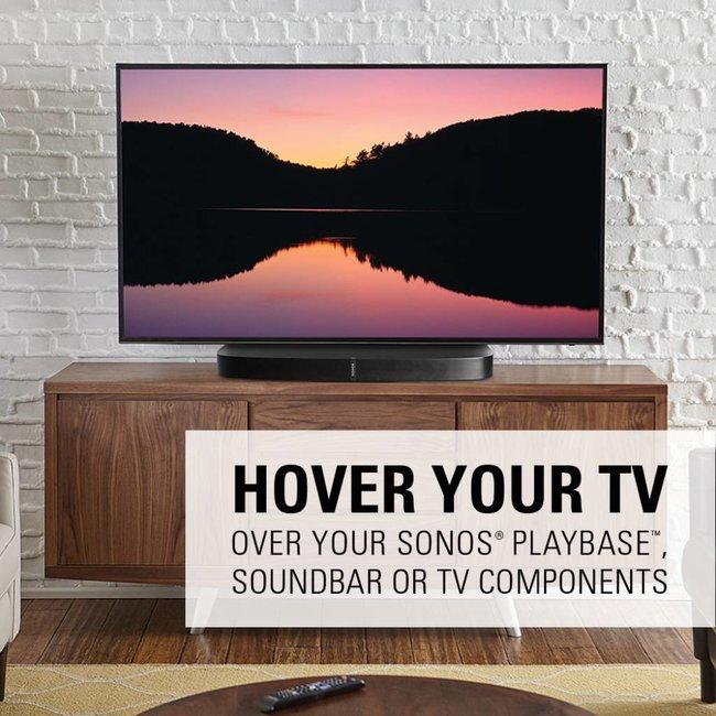 Sanus WSTV1 Swivel TV base for Sonos Playbase