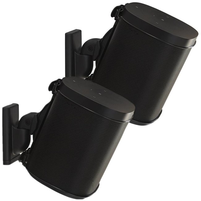 Sanus WSWM22 2 pack Wall Mount Speaker Brackets