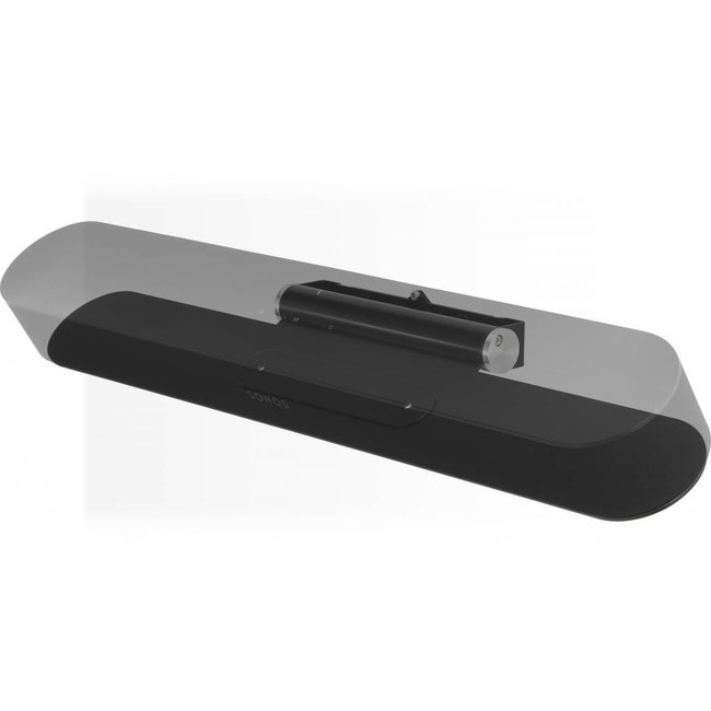Sonos Beam 3.0 Compact Soundbar + Flexson Adjustable TV Wall mount Bundle