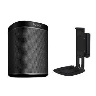 Sonos One (Gen:2) Speaker + Flexson Wall Mount Bundle