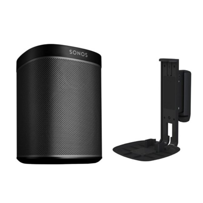 Sonos One (Gen:2) Speaker + Flexson Wall Mount Bundle