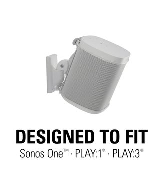 Sonos Play:1 Smart Speaker + Sanus wall mount bundle