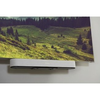 Sonos Beam 3.0 Compact Soundbar + Sanus TV Mount Attachment Bundle