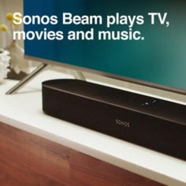 Sonos Beam 3.0 Compact Soundbar