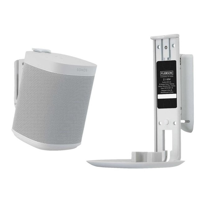 Sonos Play:1 Speaker + Flexson wall mount bundle