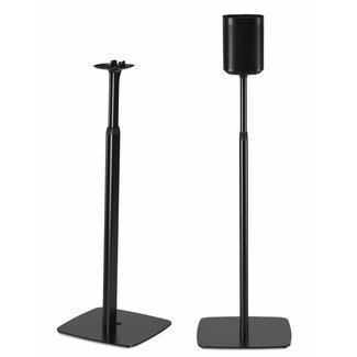 Flexson Adjustable Height Floor Stand Pair for Sonos One/One SL/Play:1