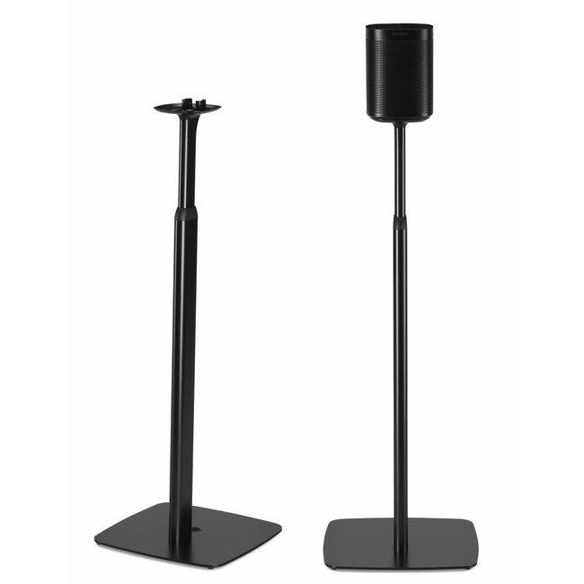 Flexson Adjustable Floor Stand Pair for Sonos One/Play:1 Speaker