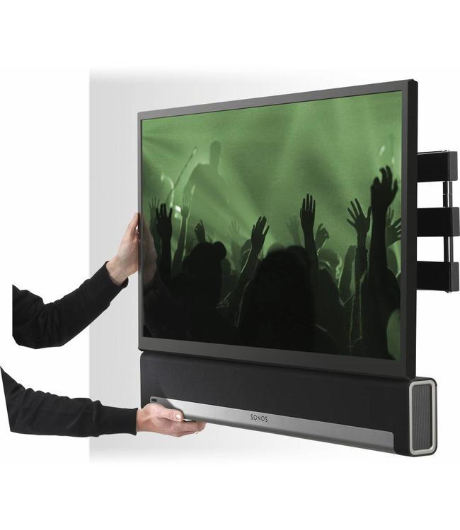 Sonos Playbar Soundbar + Flexson cantilever wall mount bundle 65in