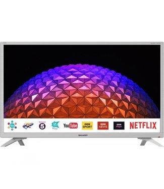 "SHARP LC32HI5232KFW 32"" White Smart HD TV"
