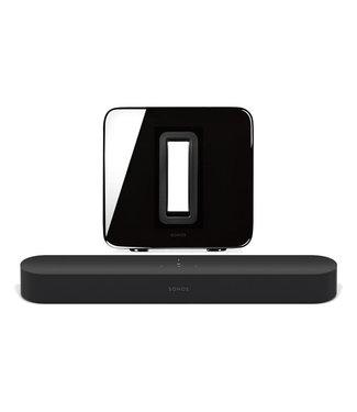 Sonos Beam 3.0 Compact Soundbar & Sonos Sub Bundle