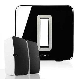 Sonos 2x Play:5 Speaker & Sonos SUB (Gen:2) Bundle