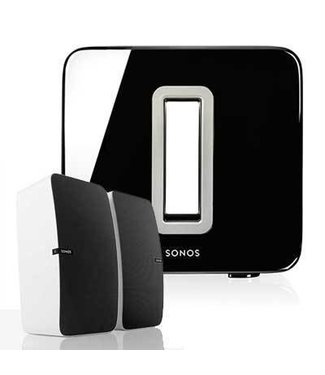 Sonos 2x Play:5 Speaker & Sonos SUB Bundle