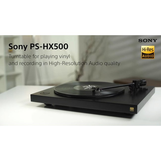 Sony PS-HX500 High Resolution Premium Turntable