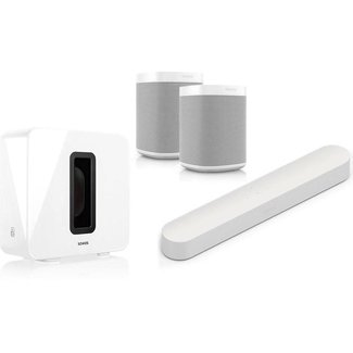 Beam + Sub (Gen:2) + 2x One (G2) Speaker Bundle