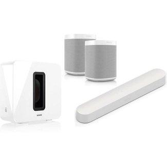Sonos Beam + Sub (Gen:2) + 2x One (G2) Speaker Bundle