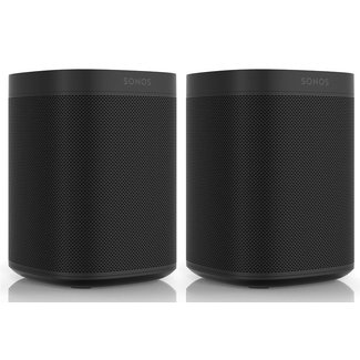 Sonos One Gen:2 2 Pack Speaker Bundle