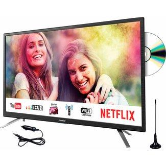 """SHARP LC24DFG6132EM 24"""" Full HD Smart 12/240v LED/DVD TV"""