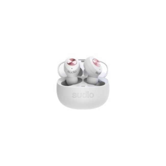 SUDIO TOLV White Bluetooth In Ear Headphones