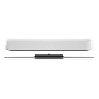 Sonos Beam 3.0 Compact Soundbar + Flexson Adjustable TV Wall mount Bundle