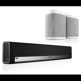 Sonos Playbar + 2x Sonos One Speaker Bundle