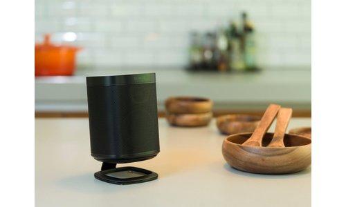 Desk top speaker stands