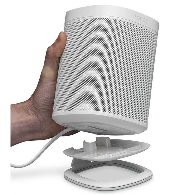 Sonos One (Gen:2) Speaker + Flexson Desktop Stand Bundle