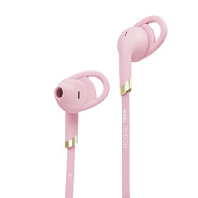 SUDIO Tretton Pink Bluetooth In Ear Headphones
