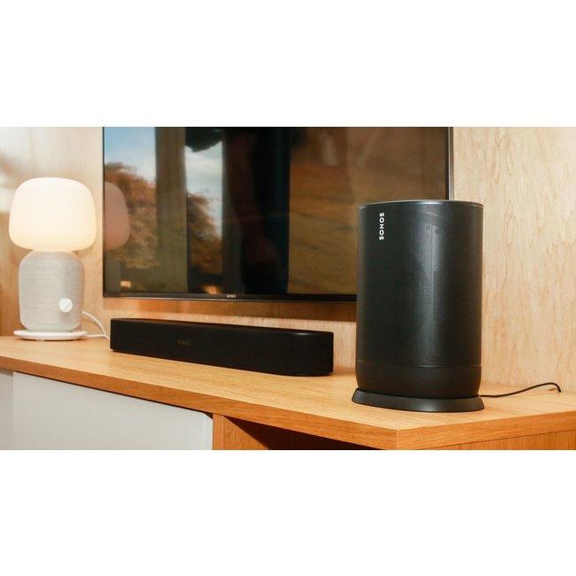 Sonos Beam Soundbar + Sonos Move Speaker Bundle