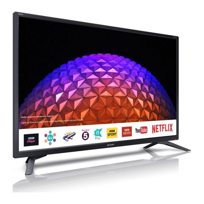 "SHARP LC32HI5232KF 32"" Smart LED TV with Freeview Play"