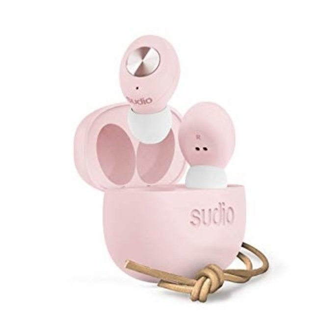 SUDIO TOLV Bluetooth In-Ear Headphones Pink