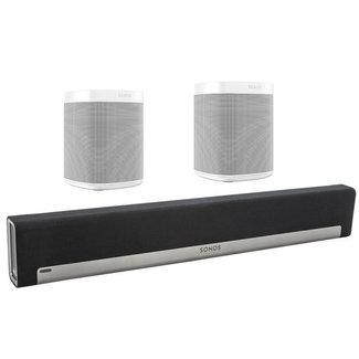 Sonos Playbar + 2x Sonos One SL Speaker Bundle