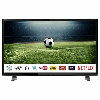 """SHARP LC40CFG3021KF 40"""" Inch Full HD 1080p Smart LED TV with Freeview Play"""