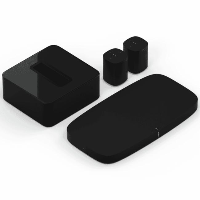 Sonos Playbase + Sub + 2x Sonos One (G:2) 5.1 Speaker Bundle