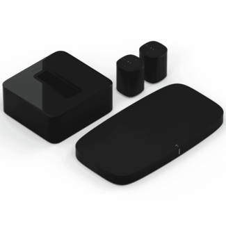 Sonos Playbase + Sub + 2x Sonos One SL 5.1 Speaker Bundle