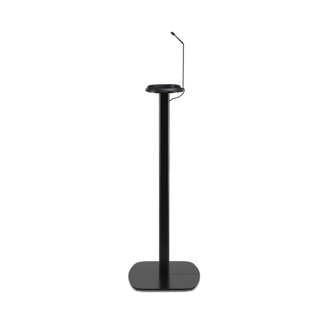 Flexson Black Fixed Height Floor Stand for Sonos Move Speaker