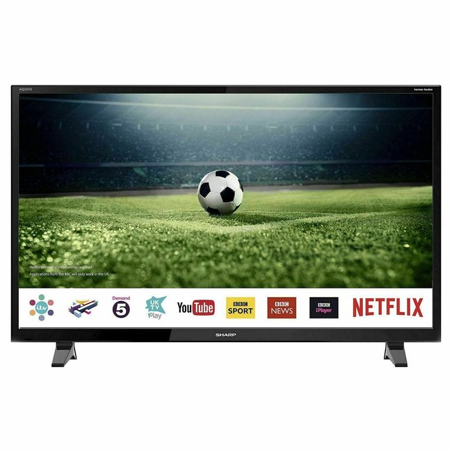 "SHARP LC50CFG6001KF 50"" Full HD 1080p Smart LED TV"