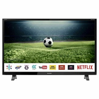 "SHARP LC40FG2241KF 40"" Inch Full HD Smart LED TV with Freeview Play"