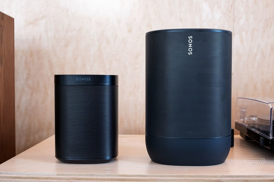 Sonos speakers including Sonos One and Sonos Move from Powerbutton