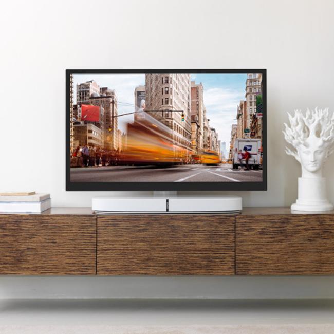 Flexson Playbase Adjustable TV Stand White