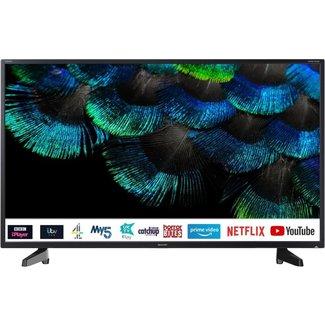 """SHARP 4T-C40AJ6KE1FB 40"""" Inch 4K HDR Smart LED TV"""