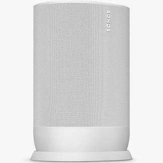 Sonos Move Smart Speaker with Voice Control, Lunar White