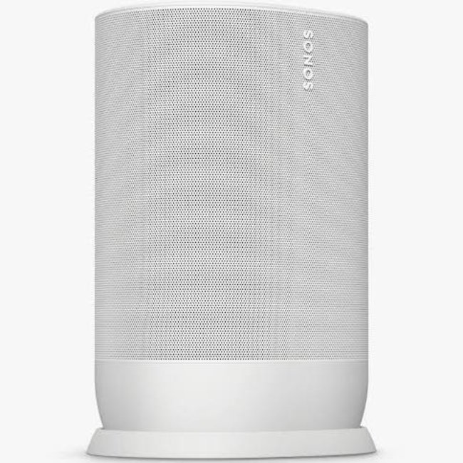 Sonos Move Smart Speaker with Voice Control - Lunar White