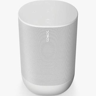 Sonos Move Smart Speaker with Voice Control - White