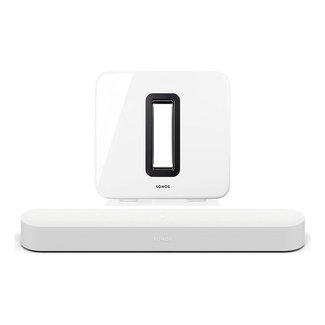 Sonos Beam (Gen:1) Soundbar + Sonos Sub (Gen:3) Bundle